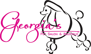 georgias pet salon logo